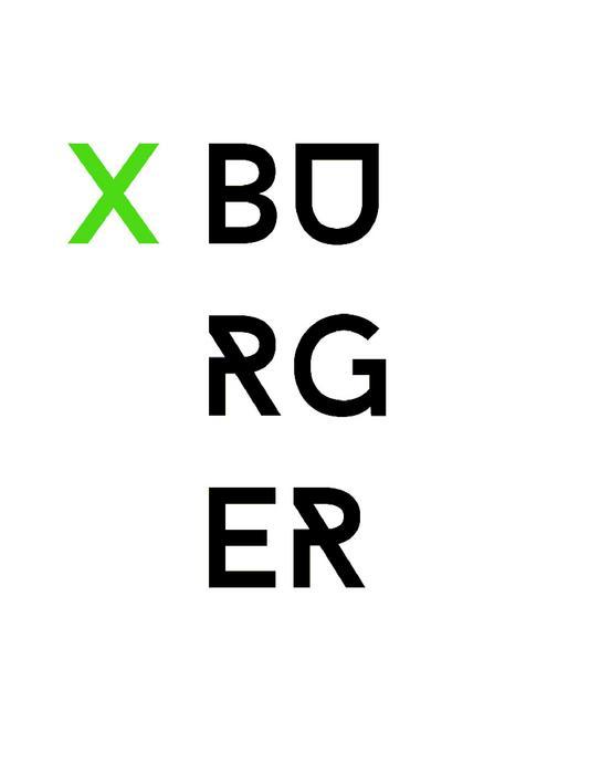 X Burger AD